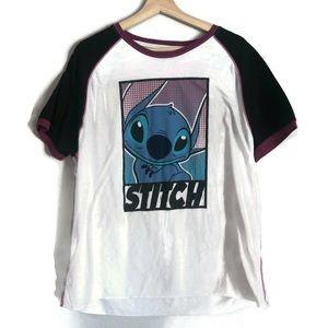 Disney Parks vintage Stitch short sleeved tee